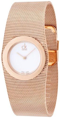 Calvin Klein Reloj Analógico para Mujer de Cuarzo con Correa en Acero Inoxidable K3T23626