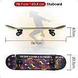 Zoom IMG-2 win max skateboard completo con