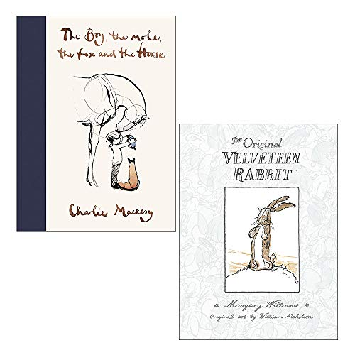 The Boy, The Mole, The Fox and The Horse, The Velveteen Rabbit 2 Books Collection Set