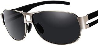 ee90625e67 Amcer Gafas de Sol polarizadas para Hombres, Gafas de conducción cuadradas  de Estilo Vintage,