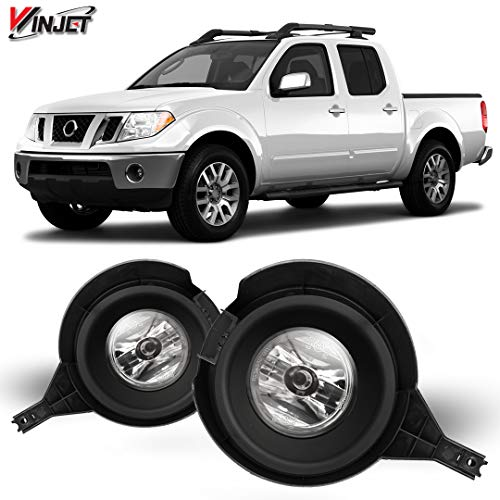 Winjet OEM Series for [2005-2016 Nissan Frontier] Driving Fog Lights + Switch + Wiring Kit
