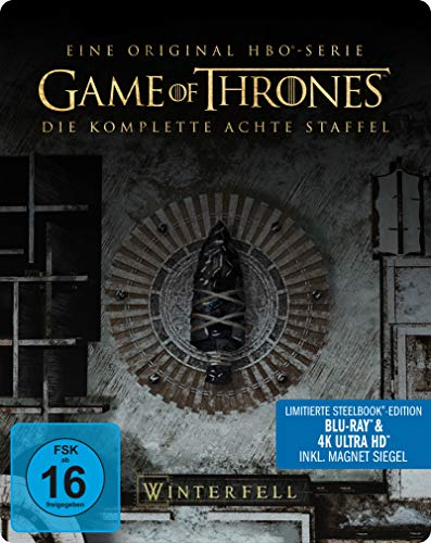Game of Thrones - Staffel 8 (Limitiertes 4K Ultra HD Steelbook) [Blu-ray] [Limited Edition]