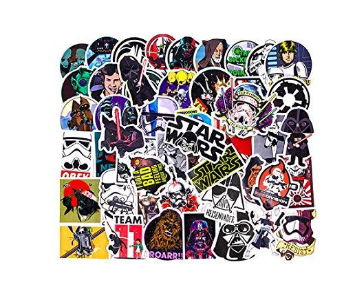 votgl Sticker50 Soorten Star War Waterdichte Brandstof Cap Creatieve Sticker Voor Skateboard Op Notebook Bagage Laptop Telefoon Styling Home Toy Sticker