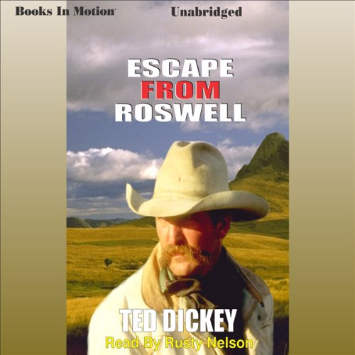 Escape From Roswell audiobook cover art