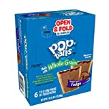 Kellogg's Pop-Tarts Made with Whole Grain, Breakfast Toaster Pastries, Frosted Fudge, 21.1oz (72 Count)