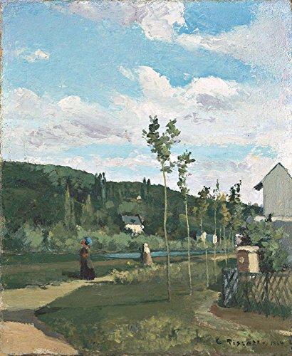 Das Museum Outlet–Kinderwagen auf ein Land Road, La varenne-saint-hilaire, 1864–Poster Print Online kaufen (152,4x 203,2cm)