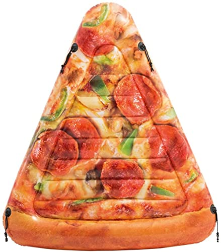xyl Pizza Row Flotante Agua para Adultos Montaje Inflable Playa Silla de...