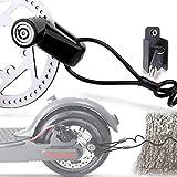 TUSNAKE Scooter Electrico Cerradura del Freno de Disco de Seguridad para Ptinete...