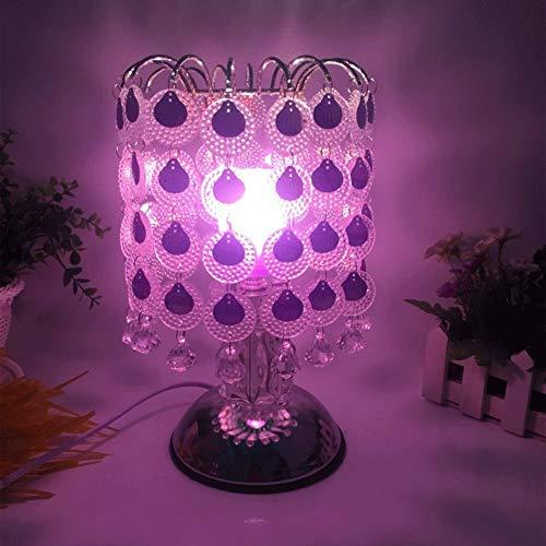 Z-ZH Lampade aromatiche Lampada da Tavolo Oscurante per Camera da Letto Matrimoniale...
