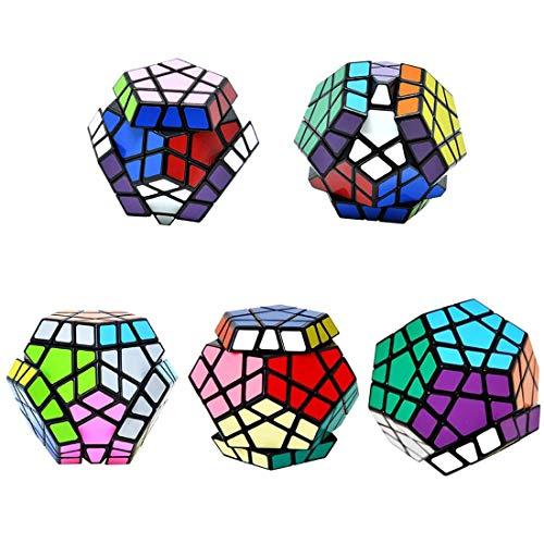 MASCARELLO Zauberwürfel Megaminx Dodekaeder Magic Cube spezielle Denksportaufgaben Puzzle Spielzeug