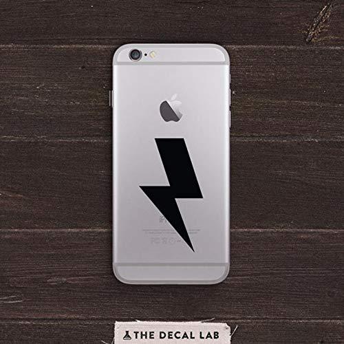 CECILIAPATER BAS-0264 Lightning Bolt Aufkleber für iPhone