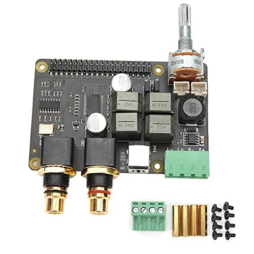 Fafeicy Placa de expansión, amplificador de audio digital HiFi DAC + AMP, reproductor de música, utiliza tecnología ESS, para Raspberry Pi X5500, 2 V RMS