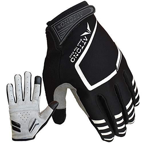 ATTONO Mountainbike Handschuhe Gel Fahrrad BMX Touchscreen Sommer Fahrradhandschuhe (8)