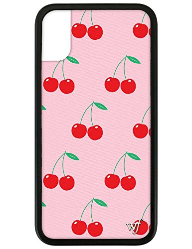 Wildflower Limited Edition Cases for iPhone X and XS (Pink Cherries)