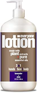 Everyone Lotion, Lavender and Aloe, 32 Ounce, 3 in1 hand,face,body