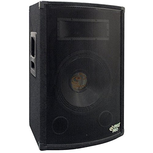 "PYLE-PRO 500Watt Outdoor Sound System Vehicle Stereo Speakers w/ 10"" Woofer, 1.5"" Kapton VC, Dual Tweeters, 4""x10"" Super Horn Midrange, Crossover Network-PylePro PADH1079"