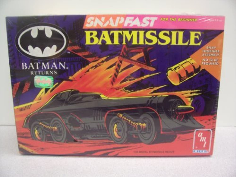 Batman Returns Batmissile Snap Fast Model Kit by AMT