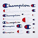 21 Pack Champion Patches Multi Size Patch Set Sew on or Iron on
