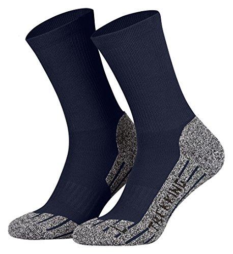 2 Paires Coolmax Hightech Sport Trekking Chaussettes Fonctionnelles pour les Femme et les Homme