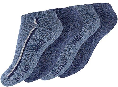 8 Paar Kinder Sneaker Socken im
