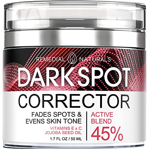 Dark Spot Corrector for Face and Body – All Natural Whitening Cream and Hyperpigmentation Treatment Promotes Anti-Aging Skin Lightening