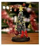 XXJIC Luz de la Noche de Navidad, árbol de Navidad con luz en la bóveda de Cristal Decoraciones de Navidad Adornos de Escritorio Regalo for Navidad Party Bar Precios for el hogar Boda, Mesa, Festival