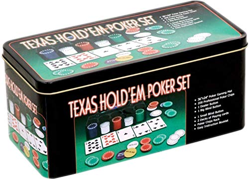 Powerpak Casino Style Poker Chips 200 pcs Set (Without Denomination) with Playing Mat (YYTB106)