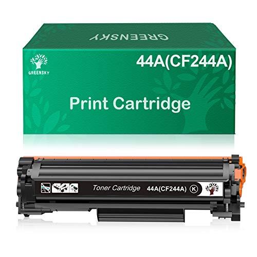 GREENSKY Cartuccia Toner Compatibile Sostituzione per HP CF244A 44A per HP Laserjet Pro MFP M28a MFP M28w M15a M15w Stampante (1 Nero)
