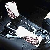 Car Interior Accessiores for Women Men -auto Gear Shift Knob Cover Handbrake Cover Wings O...