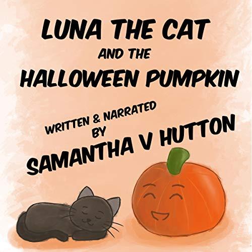 Couverture de Luna the Cat and the Halloween Pumpkin