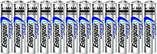 """Energizer Ultimate Lithium AAA L92 Size Batteries - 12 Pack -""""Bulk Packaging"""""""