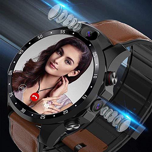 4G SIM Card 1GB RAM Memory Smart Watch Dual Display IP68 Waterproof NFC Available Sleep Tracking 24H Heart Rate Monitor