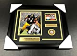 JEROME BETTIS SIGNED AUTOGRAPHED CARD WITH 8X10 Photo Framed PITTSBURGH STEEELRS