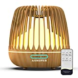 AUSUPER Essential Oil Diffuser 500ML Aroma Diffusers for Essential Oils Aromatherapy Diffuser Cool Mist Humidifier with Remote Control Waterless Auto Off Humidifiers for Bedroom Home(Light Color