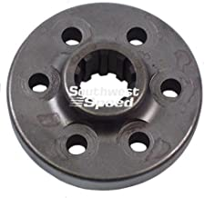 NEW CHEVY DIRECT DRIVE COUPLER FOR BERT ALUMINUM AND MAGNESIUM TRANSMISSIONS FOR MODIFIED, LATE MODEL, AND STREET STOCK RACING, 7-NC, TRANNY, IMCA, UMP, USMTS, ETC, FOR 1986 & NEWER SMALL BLOCK CHEVY WITH 1 PIECE REAR MAIN SEAL, AND CHEVY CRATE MOTORS