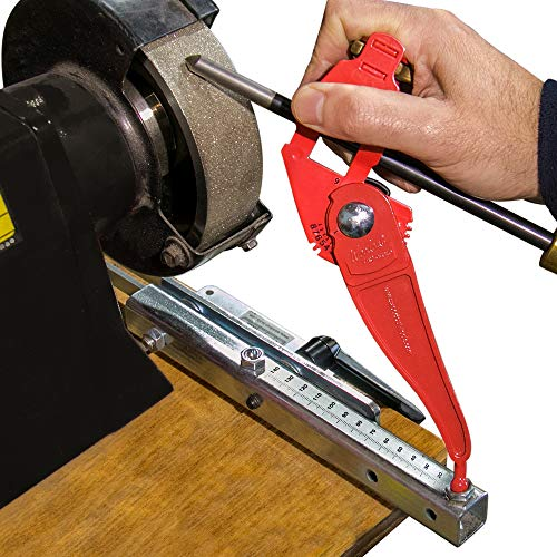 Woodcut Tools Tru-Grind Turning Tool Sharpener is an Easy, Repeatable, Precise Jig and base for...