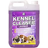 GardenersDream Kennel Cleaner 1 x 5L - Professional Safe Dog Cat Pet Odour Remover and Disinfectant 5 Litre Fragrance Fresh Concentrate 2 in 1 Simply Mix and Spray Solution (Lavender)