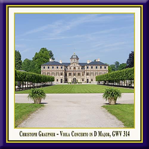 Graupner: Viola Concerto in D Major, GWV 314 (Live)