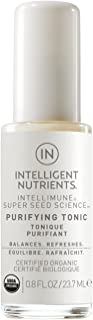 Intelligent Nutrients Travel Size Purifying Tonic - Hydrating Face Tonic Spray for All Skin Types, Makeup Setting Spray (0.66 oz)