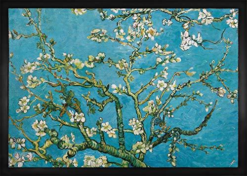 1art1 Vincent Van Gogh - Almendro En Flor, 1890 Felpudo Alfombra (70 x 50cm)
