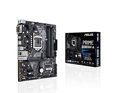 ASUS PRIME B360M-A - Best Quad Motherboard for i7 7700k
