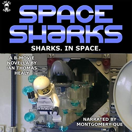 Space Sharks audiobook cover art