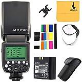 Godox V860II-F TTL Flash HSS 2.4G Li-on Batteria Fotocamere Flash...
