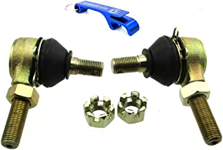 TC-Motor M12 Left & Right Tie Rod Ends For Tomberlin Crossfire 150 Baja DN150 Go Kart Ball Joint For Go Kart 150 250 Tie Rod End 12mm Kinroad Runmaster Blade Sunl Roketa Dazon For Kandi KD-150GKA-2 KD