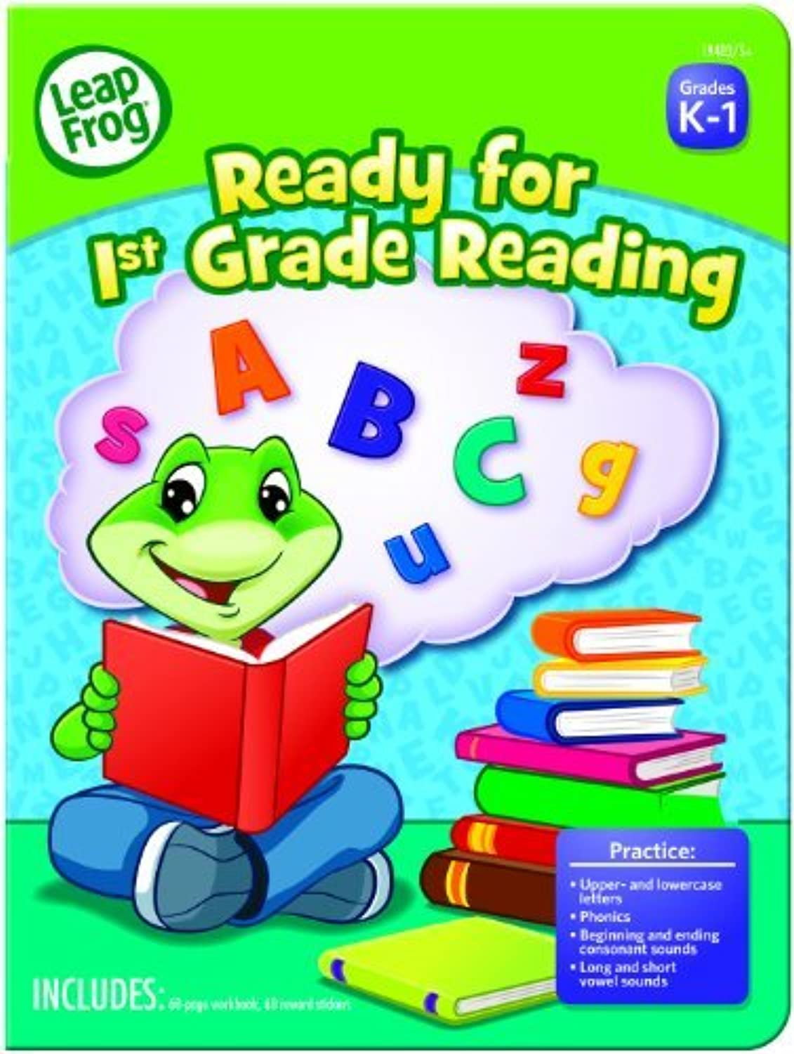 LeapFrog Ready for 1st Grade Reading Workbook with 60 Pages and 60 Reward Stickers (19403) by MEGA Brands America, Inc. (English Manual) B00NZFJ8PA | Spielen Sie das Beste