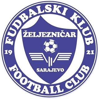 FK Zeljeznicar Sarajevo - Bosnia-Herzegovina Football Soccer Futbol - Car Sticker - 4