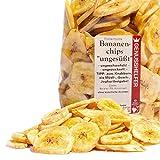 Bremer Gewürzhandel - Bananenchips 250 Gramm ungesüßt ? Knuspriger Knabberspaß ohne Zuckerzusatz