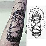 JYBHSH 1 Piezas/Set Resistente al Agua Tatuaje Pegatinas Fox búho pequeña Flor del Brazo Lleno Temporal for Mujeres Hombres Body Art (Color : Xqb04)