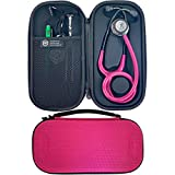 Pod Technical Classicpod - Funda para estetoscopio Littmann Classic Stethoscopes (microestetoscopio), color rosa