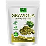 MoriVeda® - Graviola Pulver 120g, Frucht- und Pflanzenextrakt 4:1, Qualitätsprodukt – Sauersack...
